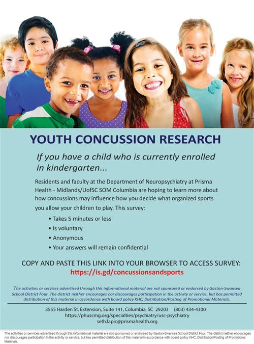 Youth Concussion Research