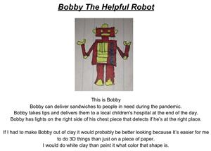 Bobby the Helpful Robot