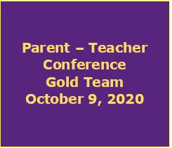 Gold Team - Parent Conference Link