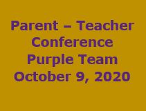 Purple Team - Parent Conference Link