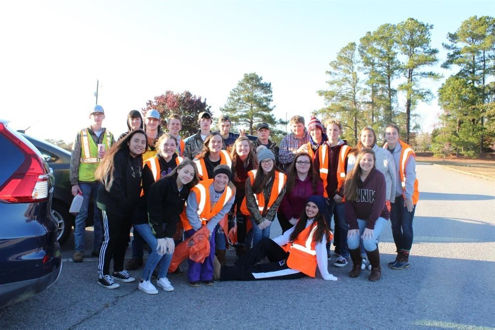 "SHS United's FFA ""Lives to Serve"""