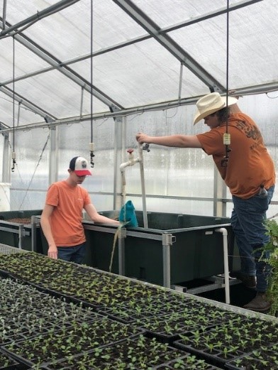 Agricultural Students Prepare for Spring Plant Sale
