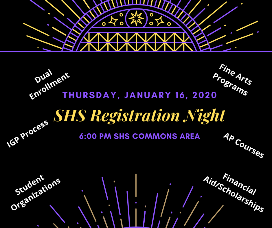 SHS Registration Night