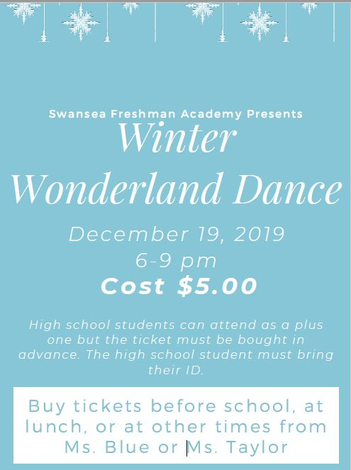 Winter Wonderland Dance at SHFA